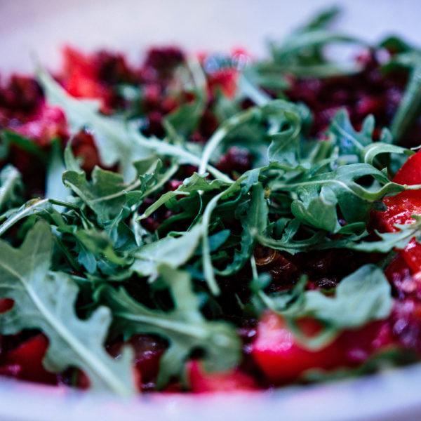 Salát - příprava jednoduchého a rychlého jídla