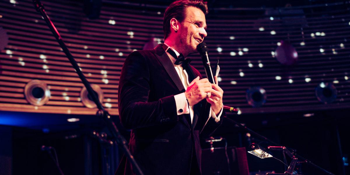 Moderátor Leoš Mareš - Městský ples Trutnov