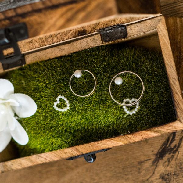 Svatba Natka a Jura prstýnky