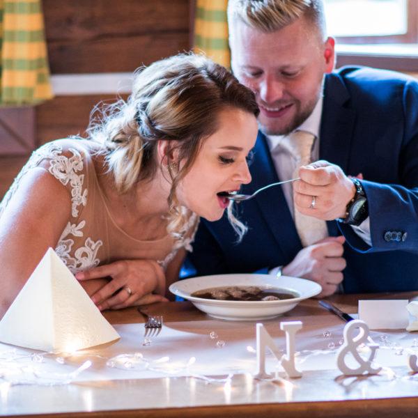 Svatební hostina Natka a Jura