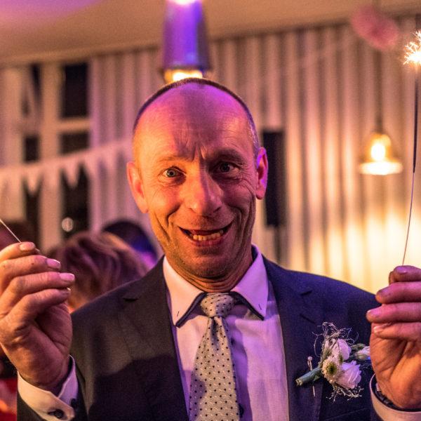 Prskavky - svatba