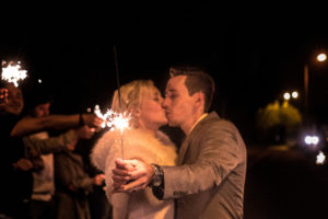 Svatební fotografie - prskavky