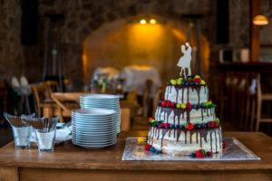 Svatební dort - fotograf