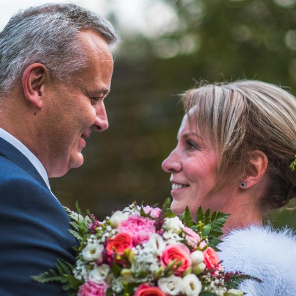 Novomanželé portrétové focení
