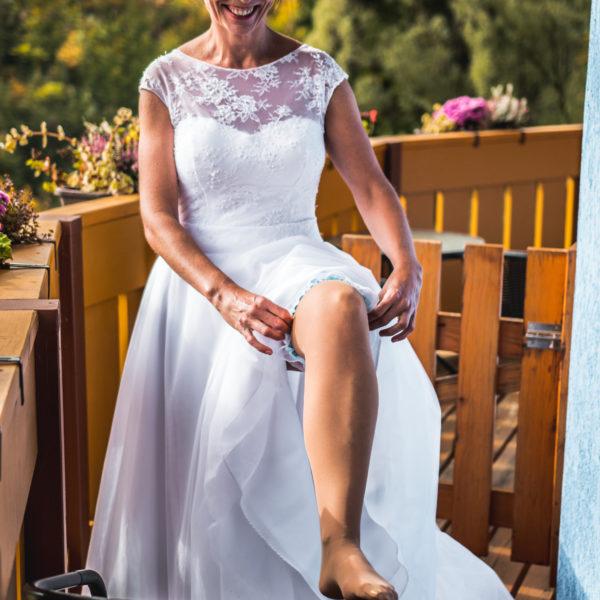 Svatební přípravy focení