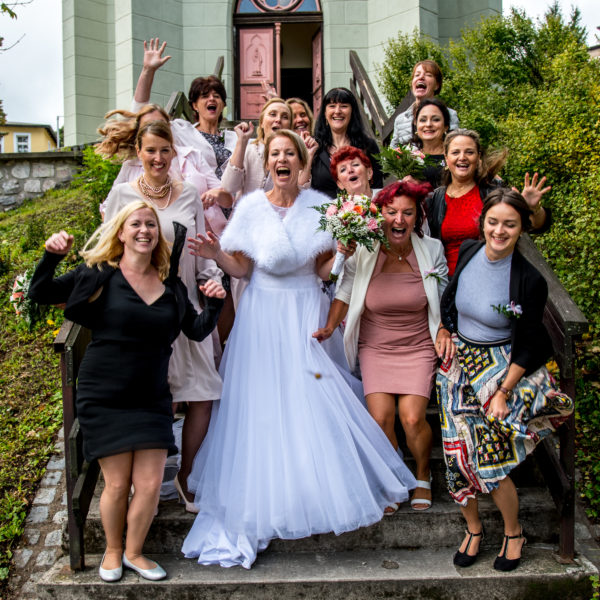Svatební focení - skupinové