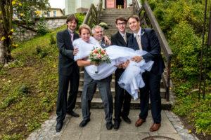 Svatební skupinové focení
