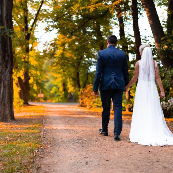 Novomanželské fotografie