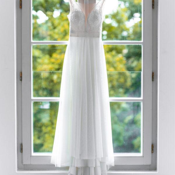 Svatební šaty - focení