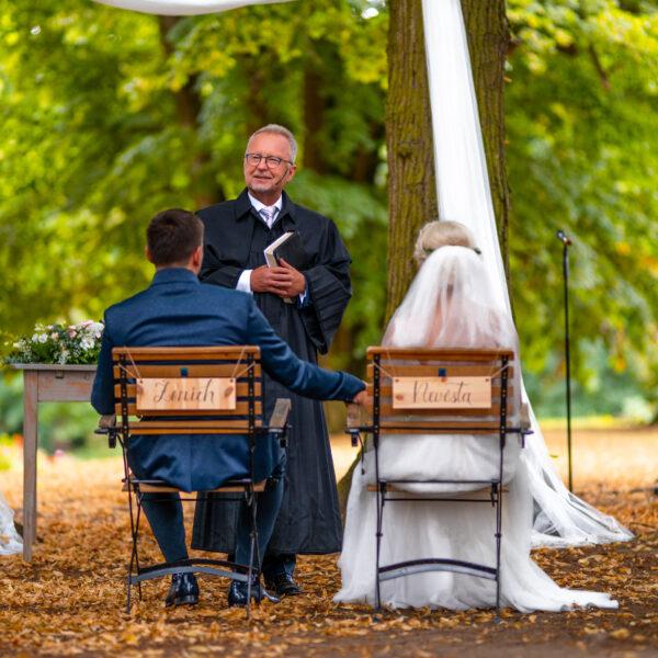 Svatební obřad focení