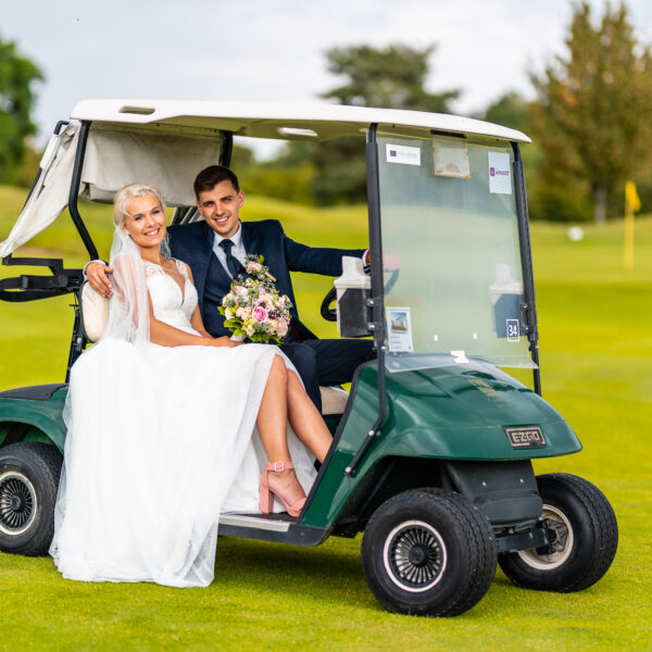 Golfové focení - svatba
